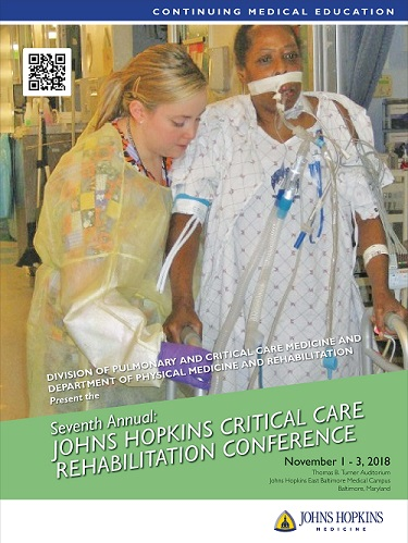 Seventh Annual Johns Hopkins Critical Care Rehabilitation Conference Banner
