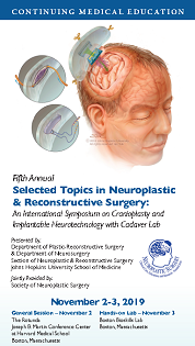 80048823 - Fifth Annual Selected Topics in Neuroplastic and Reconstructive Surgery: An International Symposium on Cranioplasty and Implantable Neurotechnology Banner