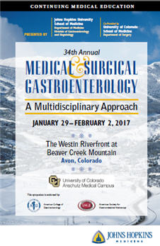34th Annual Medical and Surgical Gastroenterology: A Multidisciplinary Approach Banner