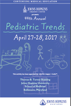 44th Annual Pediatric Trends Banner
