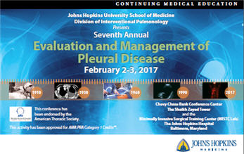 Seventh Annual Evaluation and Management of Pleural Disease Banner