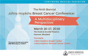 The Ninth Biennial Johns Hopkins Breast Cancer Conference: A Multidisciplinary Perspective Banner