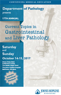 17th Annual Current Topics in Gastrointestinal and Liver Pathology Banner