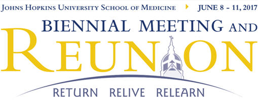 39th Biennial Meeting of the Johns Hopkins Medical and Surgical Association and Reunion Weekend Banner