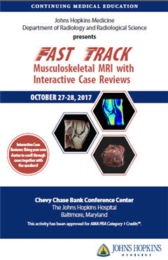 Fast Track Musculoskeletal MRI with Interactive Case Reviews
