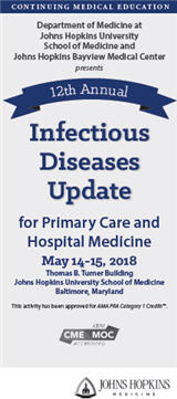 12th Annual Infectious Diseases Update for Primary Care and Hospital Medicine Banner