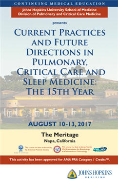 Current Practices and Future Directions in Pulmonary, Critical Care and Sleep Medicine, The 15th Year Banner