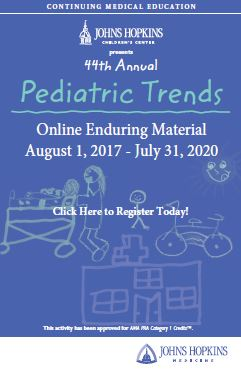 44th Annual Pediatric Trends (EM) Banner