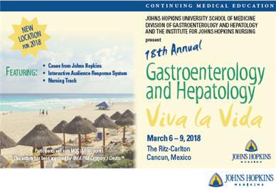 18th Annual Gastroenterology and Hepatology Viva la Vida Banner