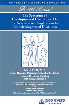 The Spectrum of Developmental Disabilities XL Banner