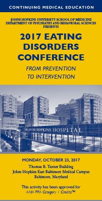 2017 Eating Disorders Conference: From Prevention to Intervention Banner