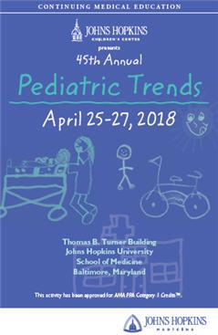 45th Annual Pediatric Trends Banner