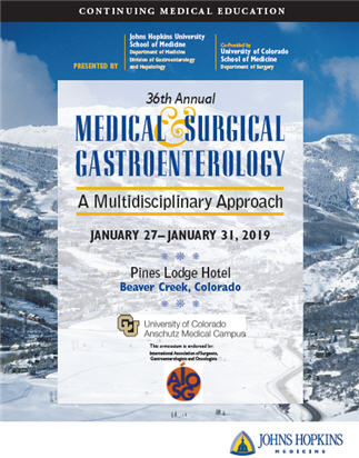36th Annual Medical and Surgical Gastroenterology: A Multidisciplinary Approach Banner