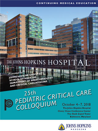 80045775 - 25th Pediatric Critical Care Colloquium Banner