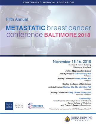 Fifth Annual Metastatic Breast Cancer Conference Banner