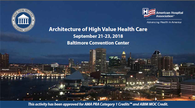 80046130 - Architecture of High Value Health Care: National Conference of the High Value Practice Academic Alliance Banner