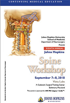 80046144 - Eighth Annual Johns Hopkins Spine Workshop Banner