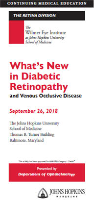 80046151 - What's New in Diabetic Retinopathy and Venous Occlusive Disease? Banner