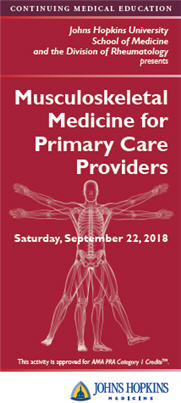 Musculoskeletal Medicine for Primary Care Providers Banner