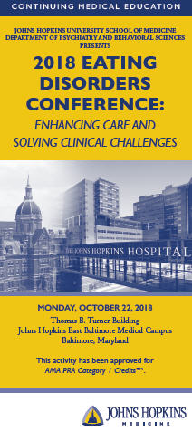 2018 Eating Disorders Conference: Enhancing Care and Solving Clinical Challenges Banner