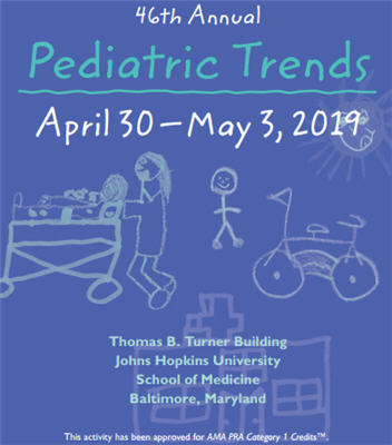 46th Annual Pediatric Trends Banner