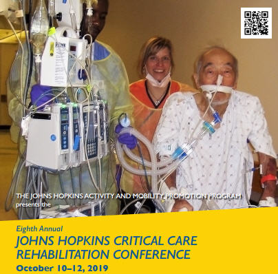 Eighth Annual Johns Hopkins Critical Care Rehabilitation Conference Banner