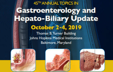 45th Annual Topics in Gastroenterology and Hepato-biliary Update Banner