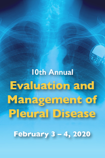 80049145 - 10th Annual Evaluation and Management of Pleural Disease Banner