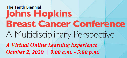 Tenth Biennial Johns Hopkins Breast Cancer Conference: A Multidisciplinary Perspective Banner