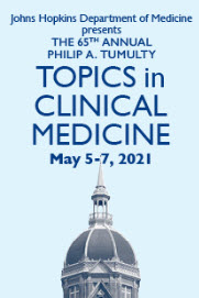 80050693 - 65th Annual Philip A. Tumulty Topics in Clinical Medicine Banner