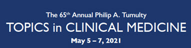 65th Annual Philip A. Tumulty Topics in Clinical Medicine Banner