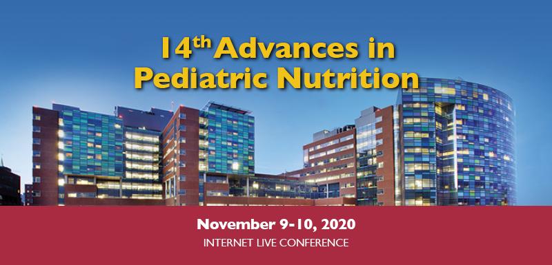 14th Advances in Pediatric Nutrition Banner