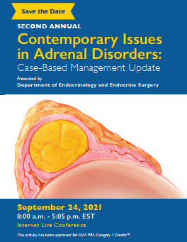 Second Annual Contemporary Issues in Adrenal Disorders: Case-Based Management Update Banner
