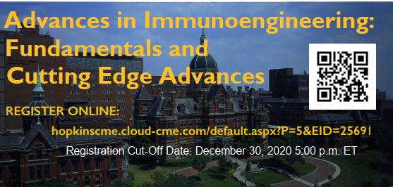 Advances in Immunoengineering: Fundamentals and Cutting Edge Advances Banner