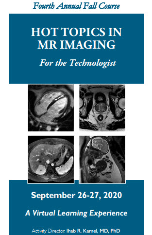 Fourth Annual Hot Topics in MR Imaging for the Technologist Banner