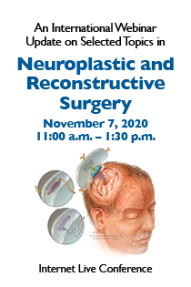 An International Webinar Update on Selected Topics in Neuroplastic and Reconstructive Surgery Banner