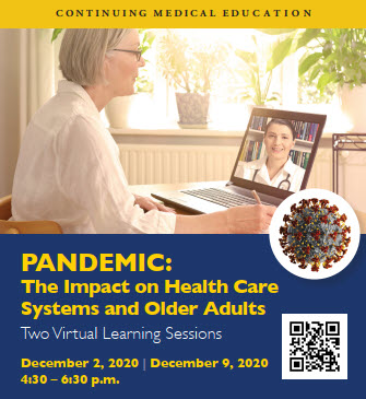 PANDEMIC:  Impact on Health Care Systems and Older Adults Banner