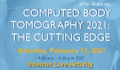 37th Computed Body Tomography:  The Cutting Edge (EM) Banner