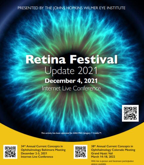 Retina Festival Update 2021 Banner