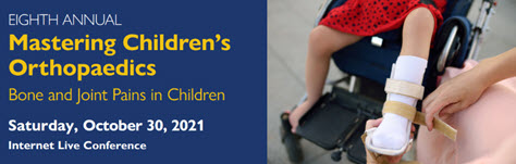 Eighth Annual Mastering Children's Orthopaedics Banner