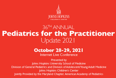 36th Annual Pediatrics for the Practitioner: Update 2021 Banner