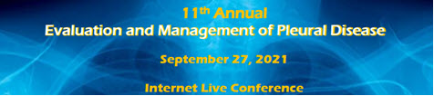 11th Evaluation and Management of Pleural Disease Banner