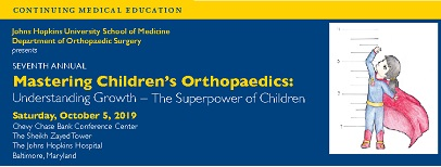 Seventh Annual Mastering Children's Orthopaedics: Understanding Growth - The Superpower of Children Banner