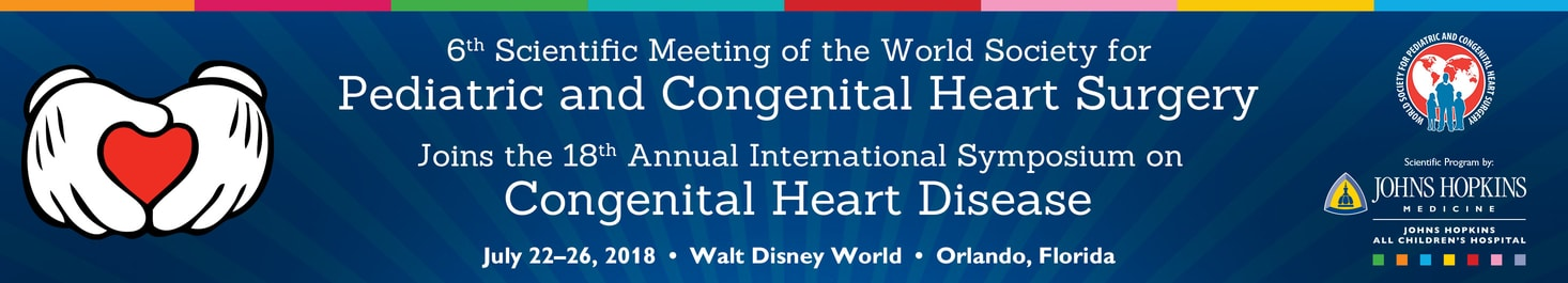 6th Scientific Meeting of the World Society for Pediatric and Congenital Heart Surgery - ACH-1919-10827 Banner