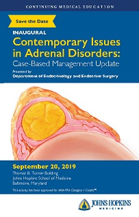80049493 - Annual Contemporary Issues in Adrenal Disorders: Case-Based Management Update Banner
