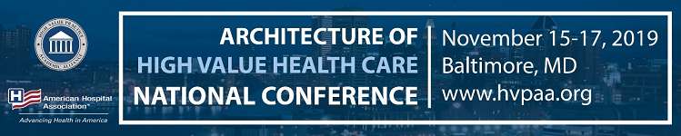 Architecture of High Value Health Care: National Conference of the High Value Practice Academic Alliance Banner