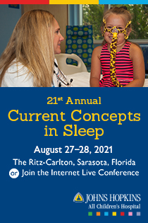 JHACH 21st Annual Current Concepts in Sleep Banner