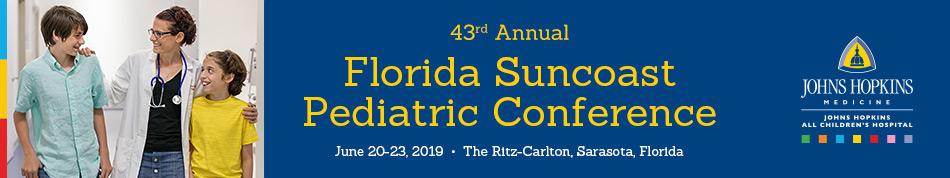 80028094 - 43rd Annual Florida Suncoast Pediatric Conference Banner