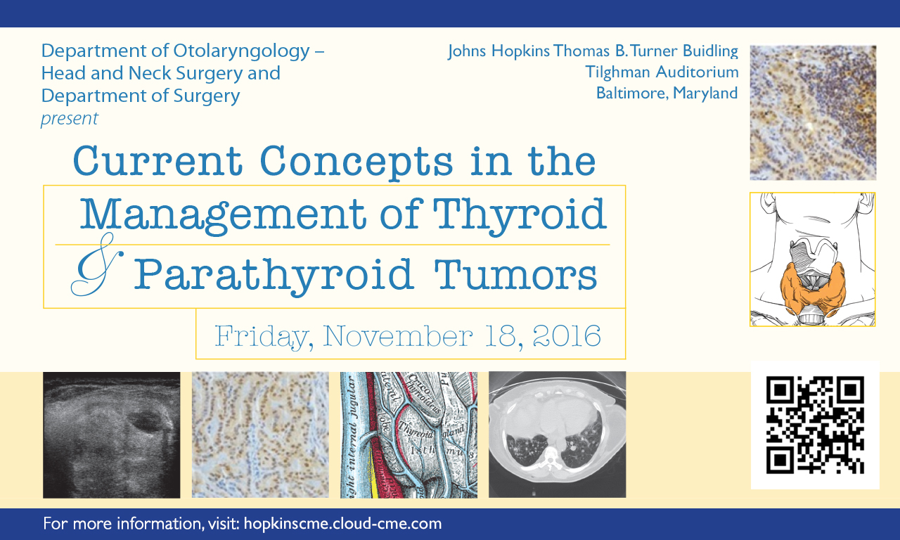 Current Concepts in the Management of Thyroid and Parathyroid Tumors Banner